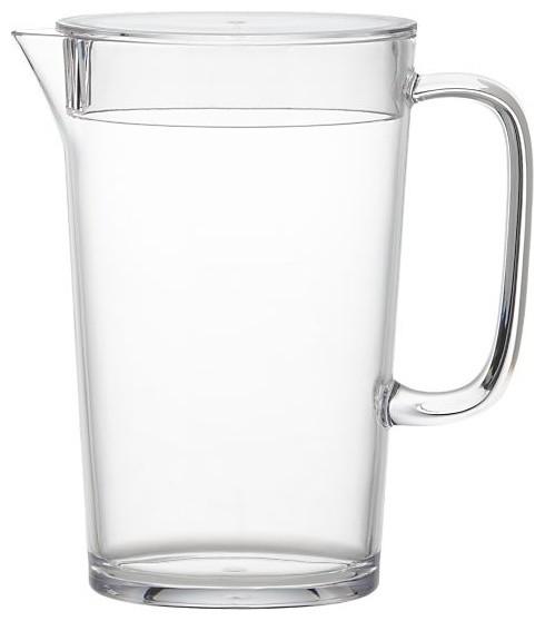 Ames Acrylic Refrigerator Pitcher modern-pitchers