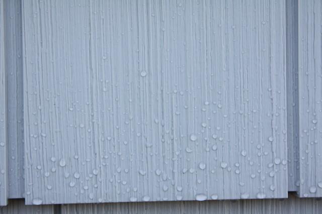Certainteed Cedar Impressions Vinyl Siding Sterling Grey with Almar Building