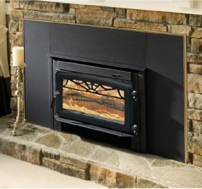 Majestic Windsor Wood Burning Fireplace Insert Modern