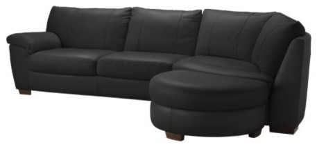VRETA Corner sofa with end unit right modern sofas