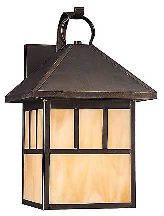 Prairie Statement One-Light Outdoor Wall Mount traditional-outdoor-wall-lights-and-sconces