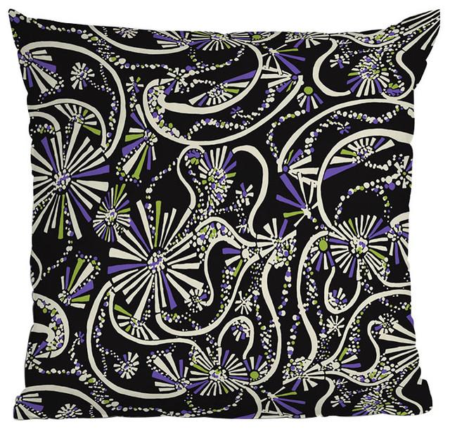 DENY Designs Rebekah Ginda Design Wowza Throw Pillow eclectic-decorative-pillows