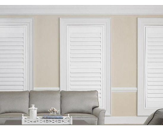 Shutters- 3 Day Blinds- Living Room -