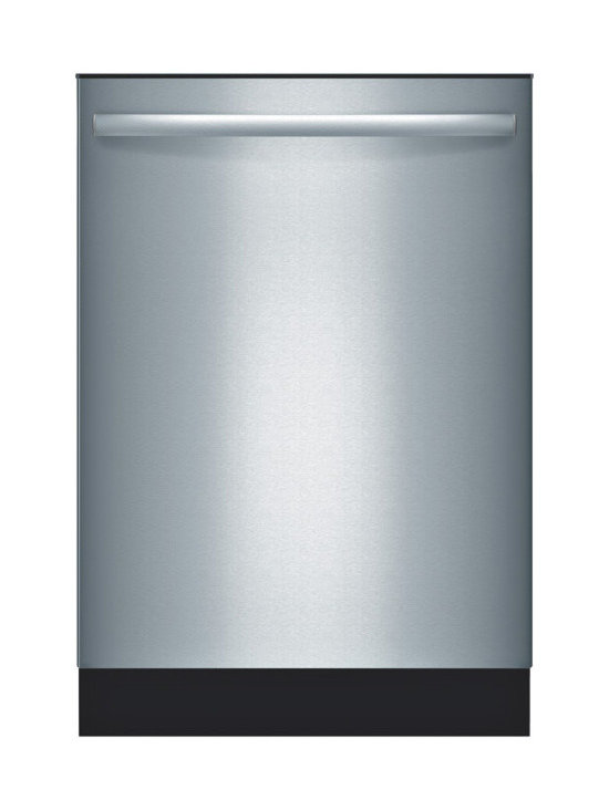 """Bosch 24"""" Ascenta Series Bar Handle Dishwasher, Stainless Steel 