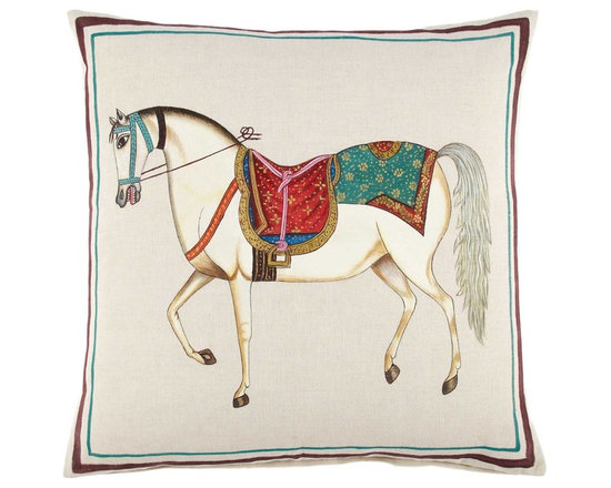 Horse Decorative Pillow -