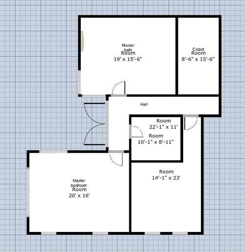 We need help with our new master bath layout - Design Bathroom Floor Plan
