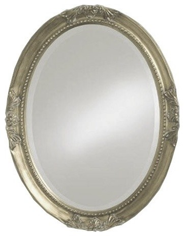The Queen Anne Oval Mirror uses centuries-old design to offer a very elegant app traditional-makeup-mirrors
