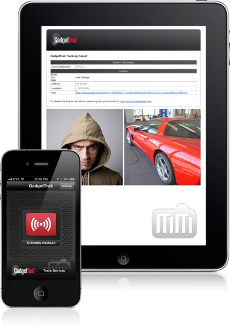 GadgetTrak App for iOS
