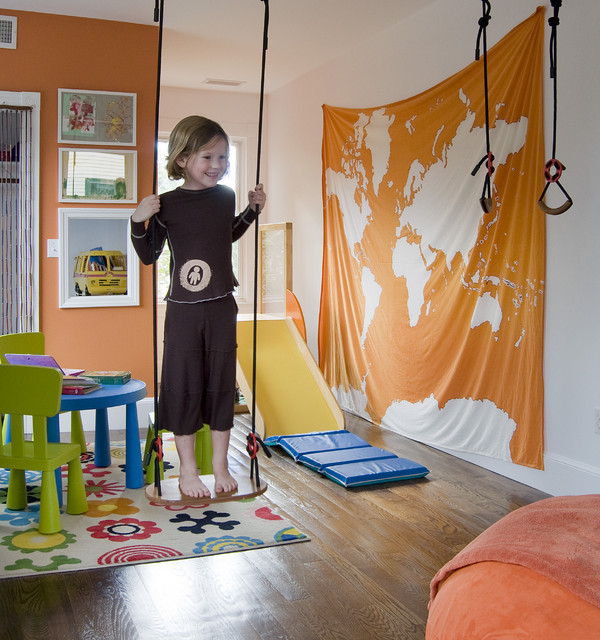 Playroom contemporary kids