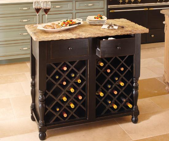 oakmont kitchen island wine storage base contemporary kitchen islands and kitchen carts. Black Bedroom Furniture Sets. Home Design Ideas