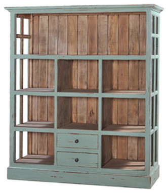 Cape Cod Open Display Cabinet - Traditional - Display And Wall Shelves - new york - by Coach Barn