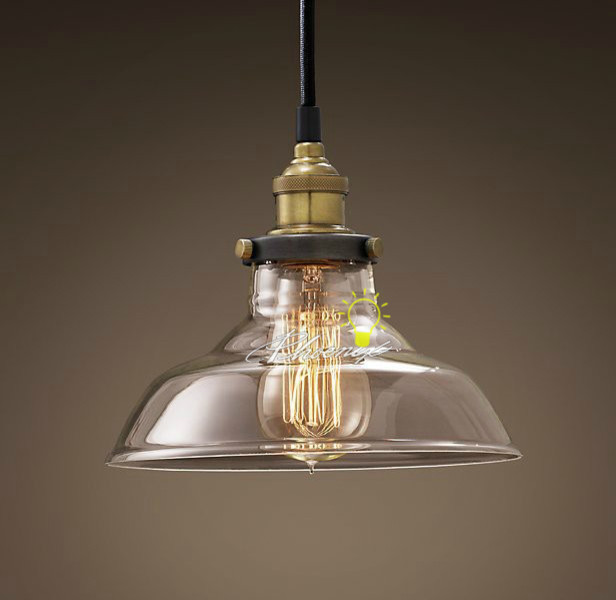 Classic glass copper pendant lighting contemporary for Industrial design lighting fixtures
