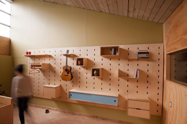 Kerf Wall Modern storage and organization