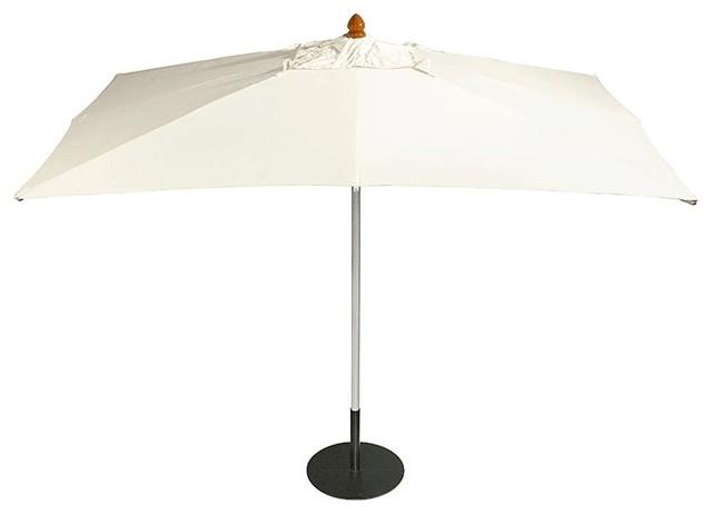 Barlow Tyrie - Sail Aluminum Parasol - Rectangular modern-outdoor-umbrellas