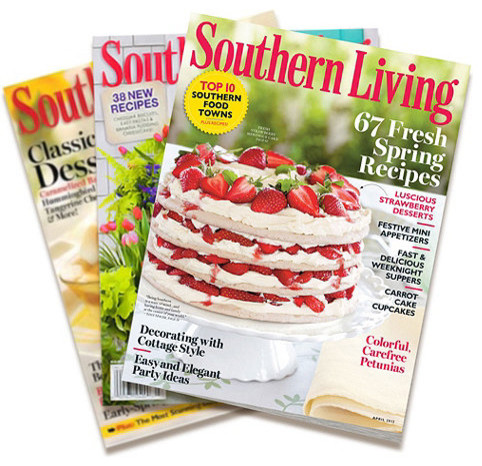 10 Monthly Issue Subscription to Southern Living Magazine traditional-magazine-racks
