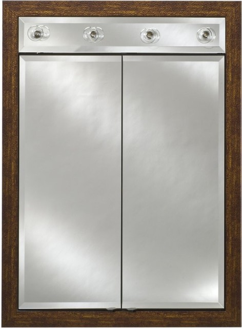 ... Lighted Double Door 24W x 34H in. Recessed Medicine modern-medicine