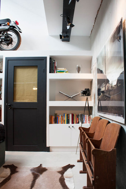 My Houzz: A Garage transformed into a boy's dream pad eclectic