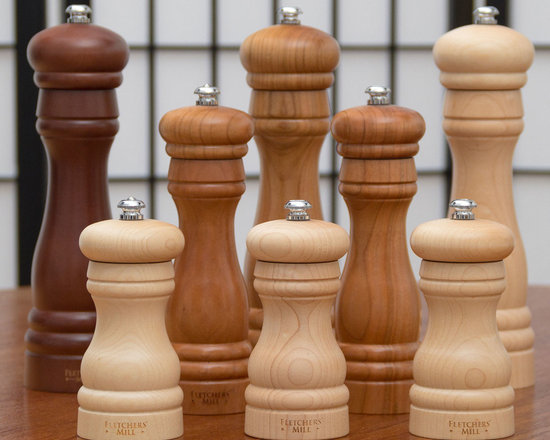 Federal Salt and Pepper Mills by Fletcher's Mill -