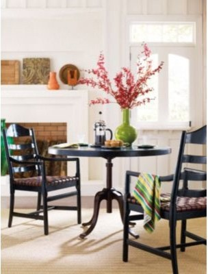 Stanley Classic Portfolio 44 in. Round Dining Table 135-81-36 - Ebony modern-dining-tables