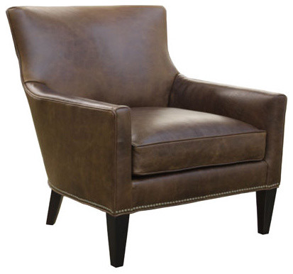 leather chair modern chairs by dania furniture palens leather chair