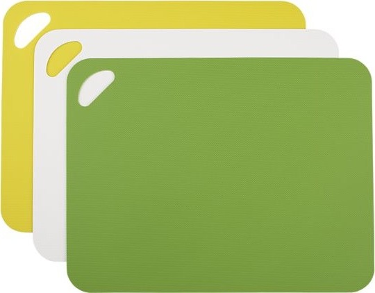 Set of 3 Flexible Grip Mats in Cutting Boards  knives and chopping boards