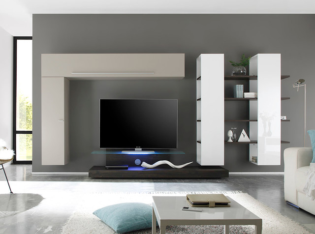 LC-10017 Wall Units - Modern - Entertainment Centers And Tv Stands - orlando - by Choice Custom ...
