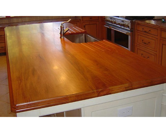 Mahogany Kitchen Island with Sink.jpg - http://www.glumber.com/