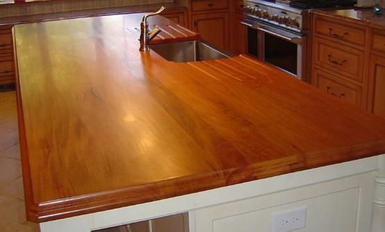 Mahogany Kitchen Island with Sink.jpg kitchen-countertops