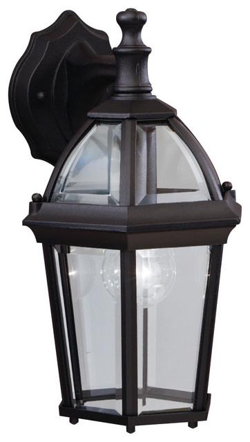 Kichler 1 Light Outdoor Fixture Black Exterior