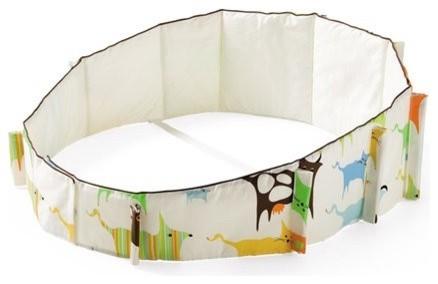 Stokke Sleepi Mini Bumper Modern Baby Bedding By