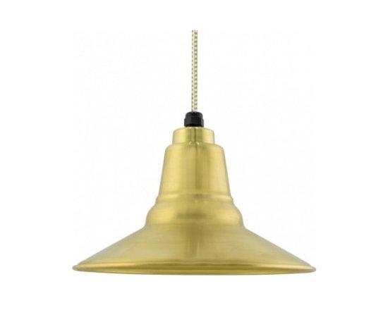 The Astro Brass Pendant -
