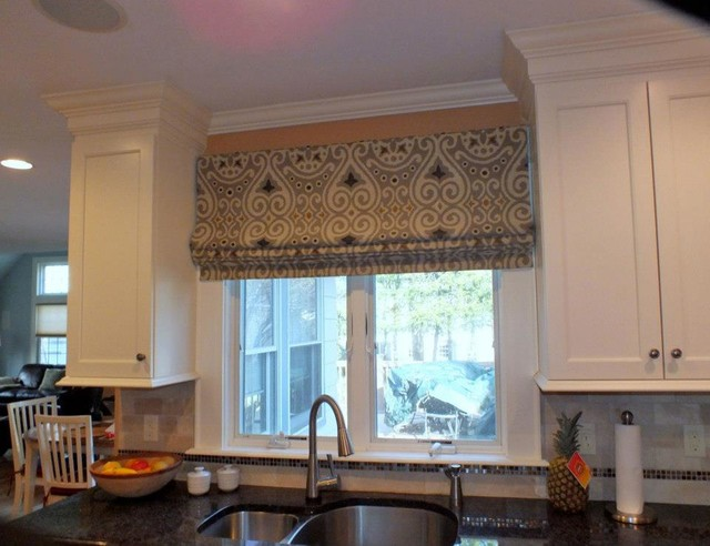 Decorating roman shades for windows : Kitchen Door Roman Shade_00195520170510 >> Ponyiex.net ...