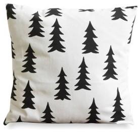 Gran Black Pillow Case contemporary-pillows