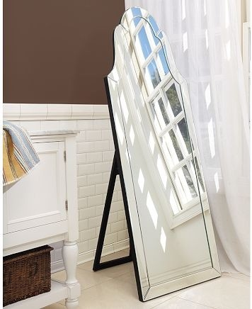 Elise Floor Mirror, Pottery Barn traditional mirrors