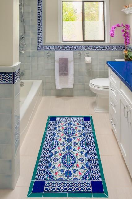Mediterranean Bath Remodel Mediterranean Bathroom San Francisco By Hdr Remodeling