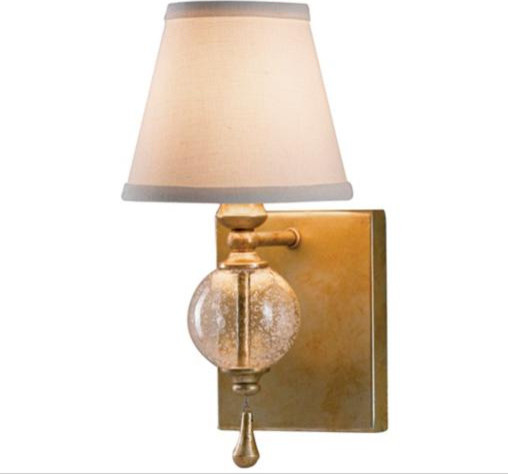 "Murray Feiss Argento Collection 11 3/4"" High Wall Sconce contemporary-wall-sconces"