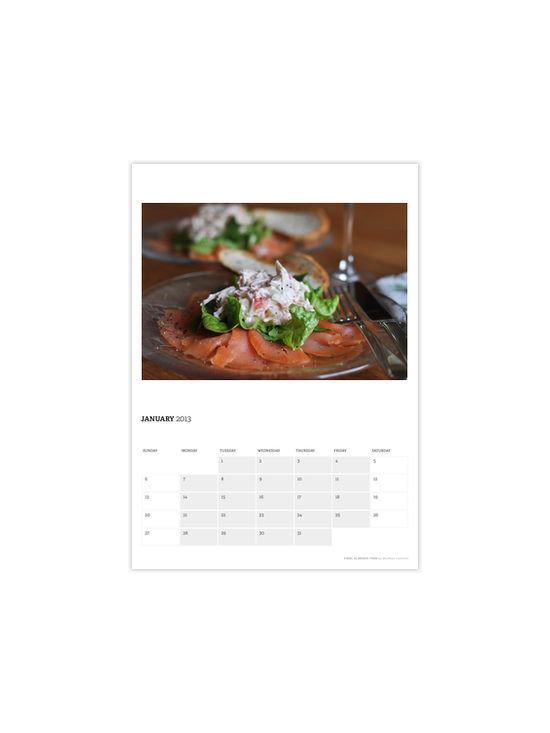 'Food, Glorious Food' Calendar -