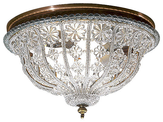 crystal ceiling light traditional flush mount ceiling