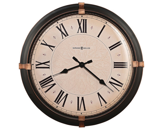 "Howard miller - Howard Miller 24"" Wall Clock | ATWATER - 625498 ATWATER"