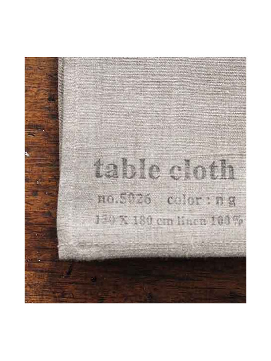 Linen Tablecloth, Natural -