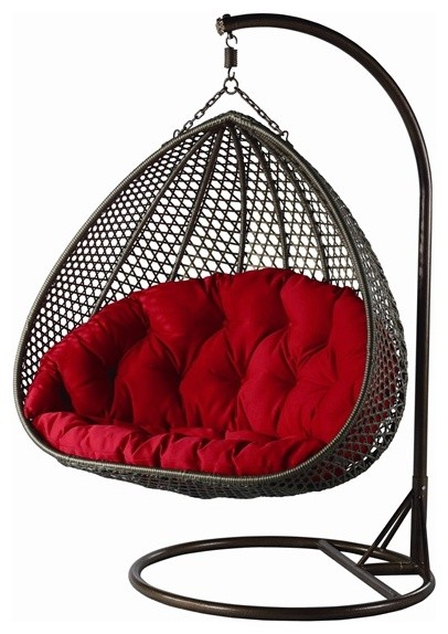 Yahg Double Wide Hanging Chair Contemporary Hammocks And Swing Chairs M