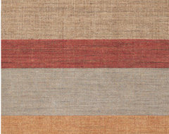 Tweed Stripe Rug modern-rugs