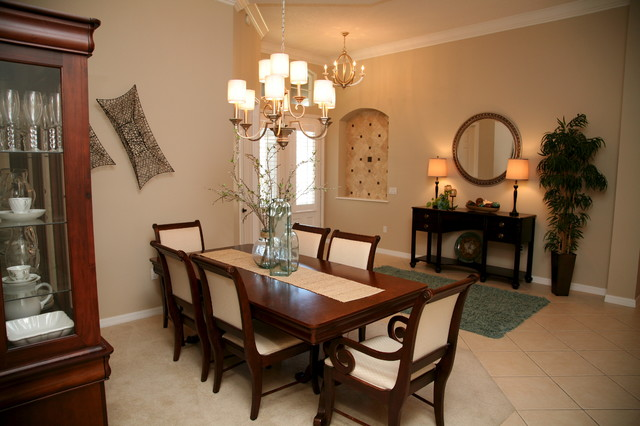 Living Room Foyer Dining Room Combo Transitional Other Metro By Jay Bennett Interiors