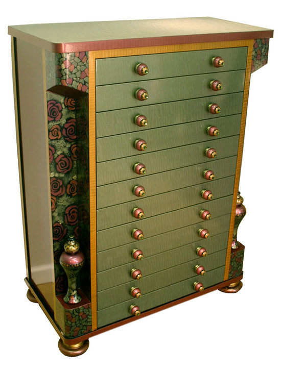 Contessa Jewelry and Accessory Armoire -