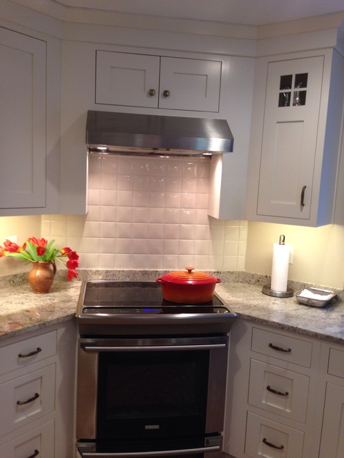 6x6 tile backsplash
