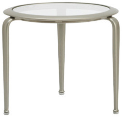 """21"""" Rd Occasional Table contemporary-outdoor-side-tables"""