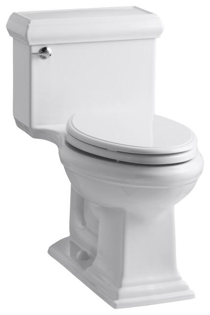 Kohler Bathroom Toilets : Kohler Memoirs 1-Piece Elongated Toilet - Traditional - Toilets - by ...