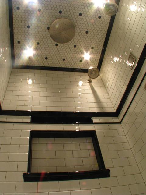 Tree Of Life Art Deco Master Bath