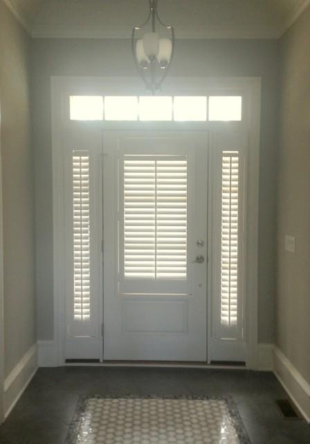 Front door side window coverings - Floors Windows Amp Doors Window Treatments Blinds Amp Shades