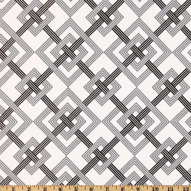 Waverly Square Root Tuxedo Fabric modern upholstery fabric